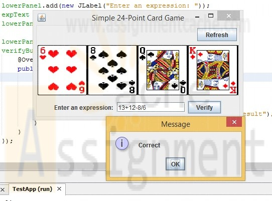 Introduction To Java 9th Edition Chapter 22 Exercise 13 The 24-point game Success