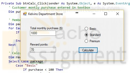 Microsoft Visual Basic 2015 Reloaded Diane Zak Chapter 5 Kelvins Department Store Solution
