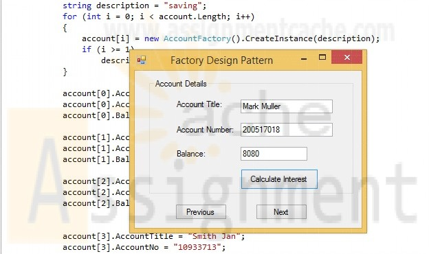 POS 409 Week 2 Factory design with Reflection