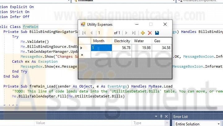 Programming with Microsoft VB 2017 Diane Zak Chapter 11 Utilities Solution