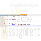 Big Java Chapter 8 Programming Exercise P8.13 Numeric Solution
