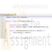 Big Java Chapter 8 Programming Exercise P8.3