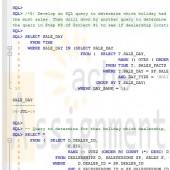 CMIS420 Project 3 Star Schema for OVS Database Spool FIle