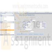 Microsoft Access 2010 Chapter 8 Client View and Update Form