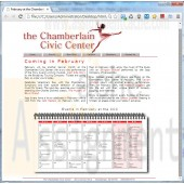New Perspectives on HTML and CSS Edition 6 Tutorial 5 Case Problem 2 The Chamberlain Civic Center.jpg