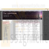 New Perspectives on HTML, CSS, and Dynamic HTML 5th edition Tutorial 12 Case 1 The Lighthouse