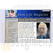 New Perspectives on HTML, CSS, and Dynamic HTML 5th edition Tutorial 13 Case 1 Twin Life Magazine Large Font