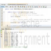 PRG420 Week 4 Individual Assignment Coding a Program Containing an Array Coding and Output