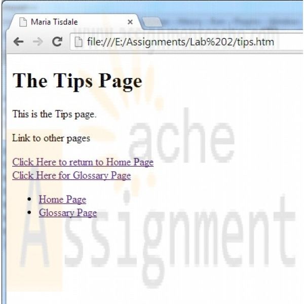 access lab assignment Access a multimedia textbook with links to learning aids, such as animations  a  lab or library, print out their online homework assignment, and work through the.