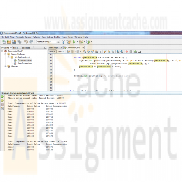 simple commission calculation program part 2 java This technique is essential in java programming  you can probably glance over that part of the chapter upon first reading and come back to it later  if you have a manager object, you can simply apply the setbonus method  1 import javautil 2 3 / 4  this program demonstrates inheritance 5.
