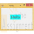 POS 408 Week 1 Version 6 Simple Visual Basic Program Hello World GUI