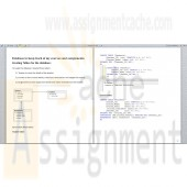 DBM 502 Week 1 Individual Assignment Small Database and Paper