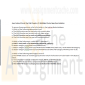 Joan Casteel Oracle 11g SQL Chapters 11 Multiple Choice Solution