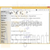 New Perspectives on HTML and CSS Edition 6 Tutorial 9 Case Problem 3 Math High